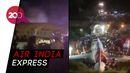 Pesawat di India Terbelah Dua Akibat Tergelincir, 17 Orang Tewas