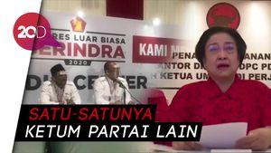 Megawati Beri Sambutan di KLB Gerindra, Sinyal Koalisi di 2024?