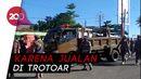 Tak Gubris Teguran-Malah Maki Walkot, PKL di Pantai Padang Dirazia