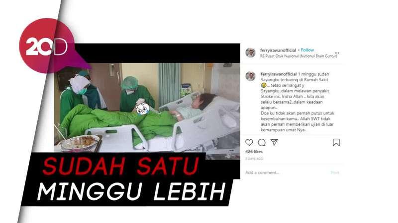 Istri Ferry Irawan Dirawat di Rumah Sakit Karena Stroke