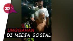 Detik-detik Pria di Bandung Diamankan Polisi, Diduga Hina Agama