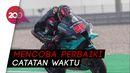 Sesi Kualifikasi MotoGP Ceko: Quartararo Terjatuh, Start di Posisi Kedua
