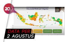 Daftar Zona Merah dan Hijau di Indonesia