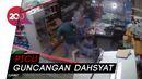 Dampak Ledakan Lebanon Terekam CCTV di Supermarket