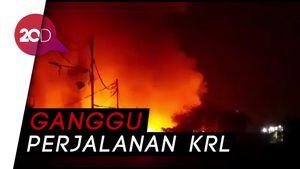 Permukiman di Duri Utara Dilalap Si Jago Merah