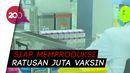 Jokowi Tinjau Uji Klinis Vaksin Corona di Bandung