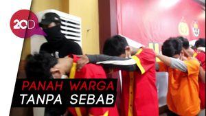 Kerap Lemparkan Panah ke Warga, Geng Motor di Makassar Dibekuk