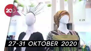 164 Desainer Bakal Unjuk Gigi di Fashion Show Virtual ISEF 2020