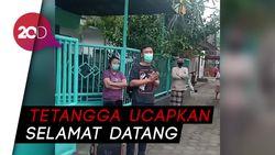 Pasien Sembuh Corona di Banyuwangi Disambut Hangat oleh Warga