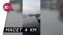 Tol Padaleunyi Terendam Banjir, Kemacetan Mengular Panjang