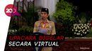 Jokowi Pimpin Upacara Peringatan Hari Pramuka Ke-59 di Istana