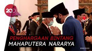 Momen Jokowi Beri Penghargaan ke Fahri Hamzah dan Fadli Zon
