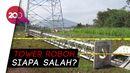 Polisi Selidiki Sebab Tower Roboh di Sumedang yang Tewaskan 4 Pekerja!
