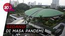 Suasana Gedung Parlemen Jelang Pidato Kenegaraan Jokowi