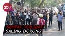 Massa Tolak Omnibus Law di Solo Sempat Memanas dengan Polisi