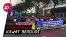 Ada Sidang Tahunan DPR,  Demo Tolak RUU Cipta Kerja Muncul