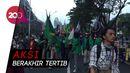 Massa Demo di Jalan Gerbang Pemuda Bubarkan Diri