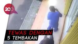 Inilah Rekaman CCTV Penembakan Maut di Kelapa Gading