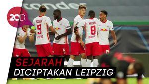 Leipzig Jegal Atletico, Ini Statistik Lengkap Pertandingannya