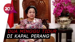 Cerita Megawati Tidur di Kapal Perang Saat Konflik Maluku