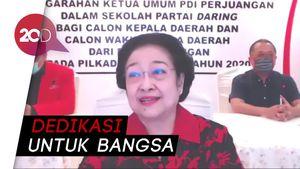Wejangan Megawati ke Calon Kepala Daerah Kader PDIP