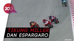 Manuver Ciamik Miguel Oliveira di Tikungan Terakhir MotoGP Styria