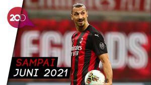 Deal! Ibrahimovic Sepakat Perpanjang Kontrak di Milan