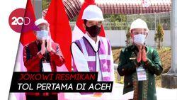 Tol Pertama di Aceh Siap Permudah Warga Sekitar