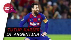 Kisruh Messi-Barcelona Bikin Presiden Argentina Turun Tangan