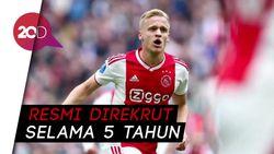 Selamat Datang di Manchester United, Donny van de Beek!