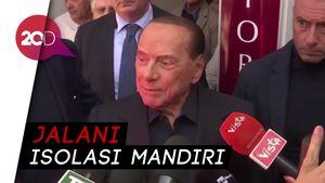 Eks PM Italia Silvio Berlusconi Positif Corona
