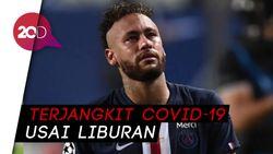 3 Pemain PSG Positif Covid-19, Salah Satunya Neymar!