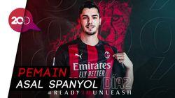 Sah! AC Milan Pinjam Brahim Diaz dari Real Madrid