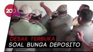 Demo di Kendari Ricuh Gegara Adu Mulut Mahasiswa Vs Kepala Bapenda