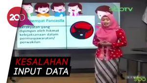 Logo PDIP Jadi Lambang Sila ke-4, Guru dan Dispendik Surabaya Minta Maaf