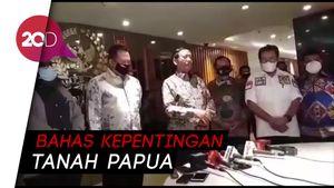 Mahfud-Tito Bahas Otsus Hingga Pemekaran Papua Bareng MPR