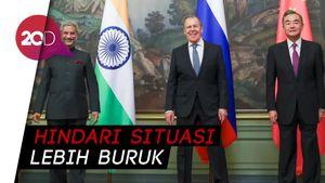 India dan China Sepakat Turunkan Tensi Ketegangan di Perbatasan