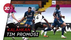Arsenal Buka Liga Inggris dengan Hajar Fulham 3-0