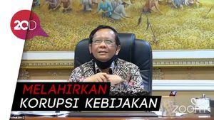 Mahfud Md Sebut 92% Calon Kepala Daerah Dibiayai Cukong