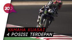 Vinales Tercepat di Kualifikasi MotoGP San Marino, Rossi Keempat