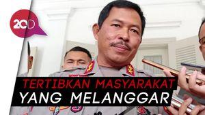Mulai Besok TNI-Polda-Kejati Gelar Operasi Yustisi Kawal PSBB DKI