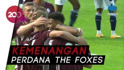 Vardy 2 Gol, Leicester Bekuk West Brom 3-0