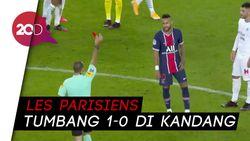 Drama 5 Kartu Merah di Laga PSG Vs Marseille, Salah Satunya Neymar