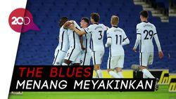 Werner-Havertz Debut, Chelsea Bungkam Brighton 3-1