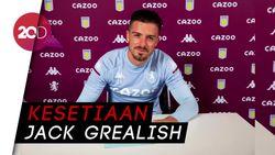 Maaf MU, Grealish Perpanjang Kontrak di Aston Villa