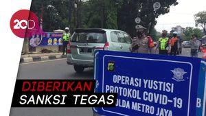 Operasi Yustisi di Check Point Ps Jumat, Dominasi Tak Pakai Masker