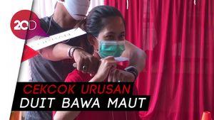 Rekonstruksi Istri Tusuk Suami Siri di Mampang: Berawal dari Cekcok!