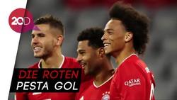 Bayern Bantai Schalke 8-0, Serge Gnabry Hat-trick