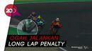 Quartararo Ngambek Usai Gagal Podium Gegara Penalti Tiga Detik
