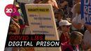 Demonstran Anti-Lockdown di London Bentrok dengan Polisi